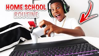 KAILEM'S HOME SCHOOL MORNING ROUTINE