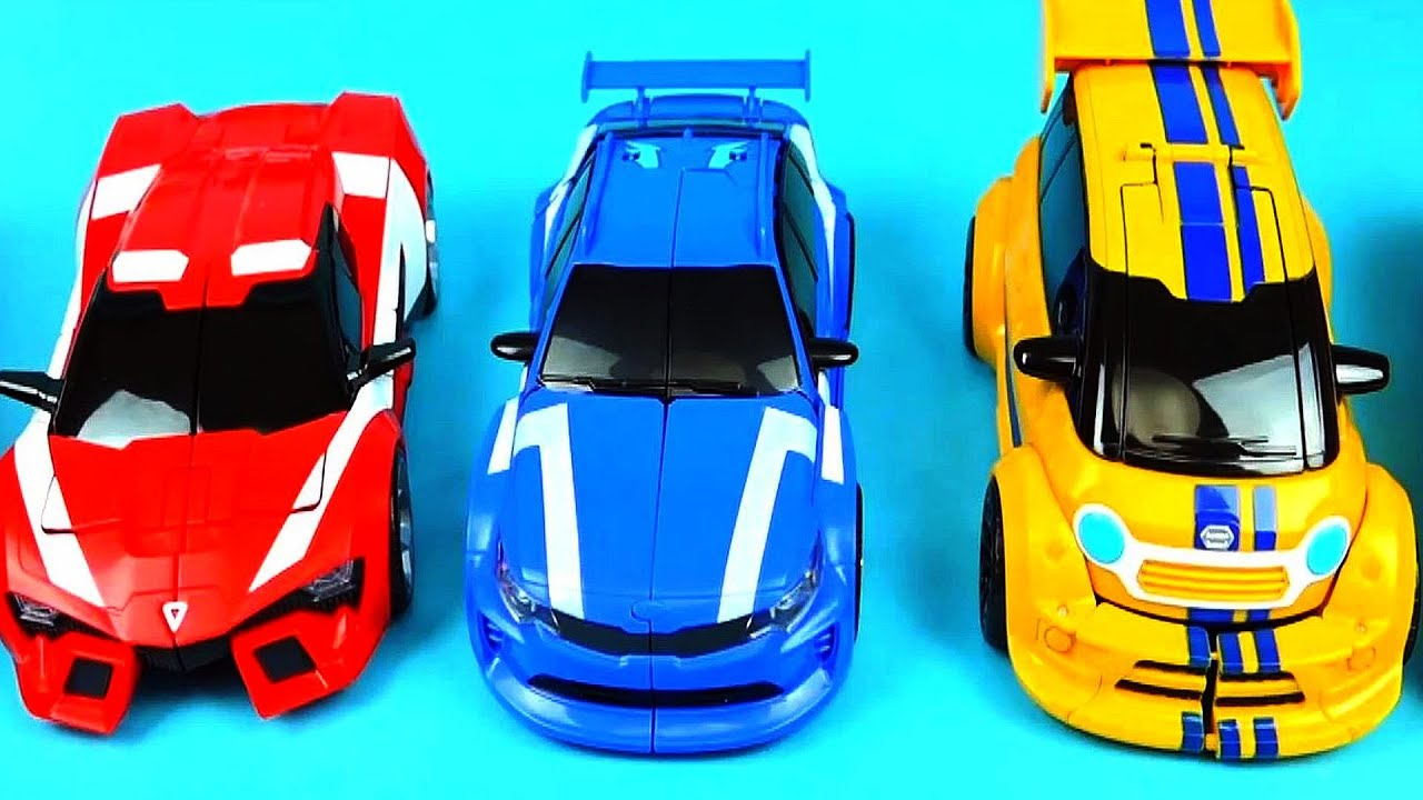 TOBOT CarBot Car Toys   Red Blue Yellow Transformers   ToyPudding 또봇    YouTube