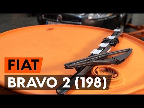 Hoe Een Ruitenwissers Vervangen Op Een FIAT BRAVO 2 (198) [AUTODOC-TUTORIAL]