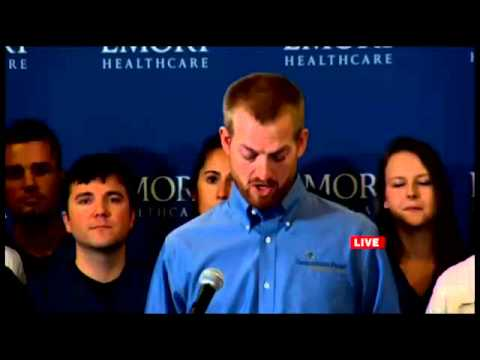 Ebola patient Kent Brantly press conference from E...