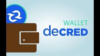 видео Кошелек Decred (DCR) - как создать и пользоваться