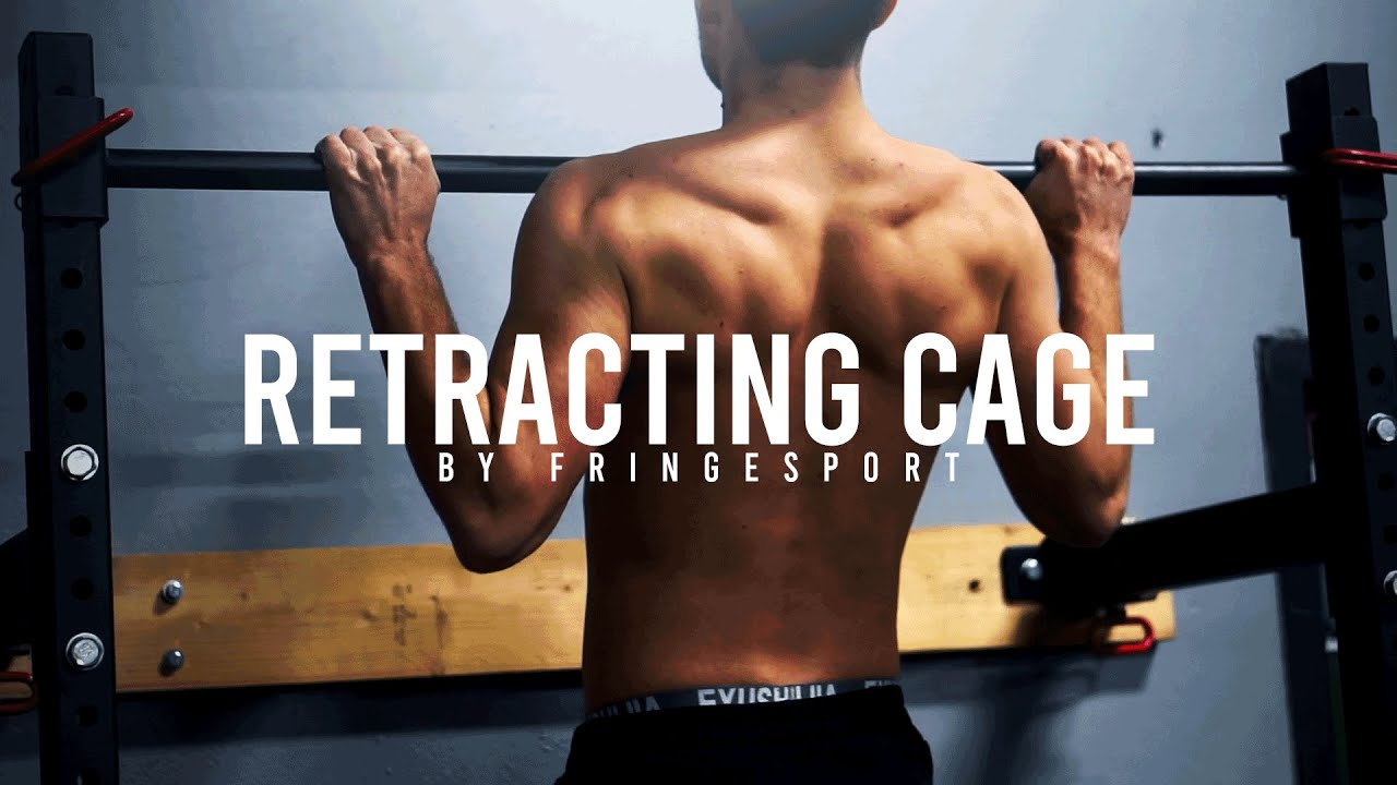 Fringesport Retractable Power Rack Youtube
