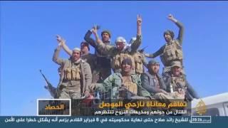 أهالي الموصل.. القتال حولهم ومخيمات النزوح بانتظارهم