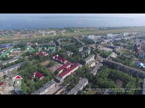 Аэросъемка города Менделеевск