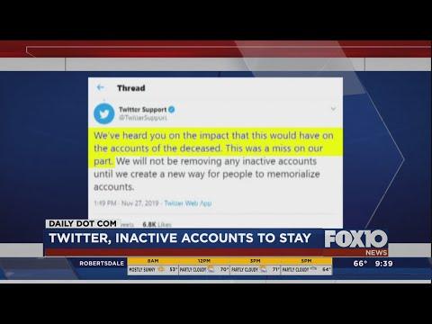 Twitter will soon delete inactive accounts