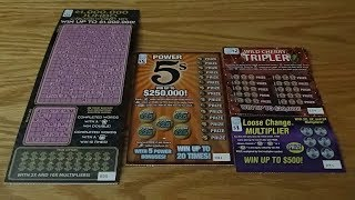 NEW Illinois Lottery Scratch off Tickets!!