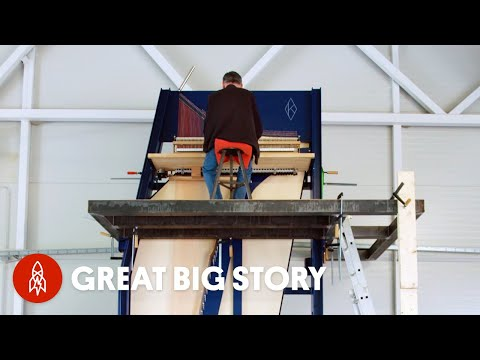 What a 15-Foot-Tall Piano Sounds Like