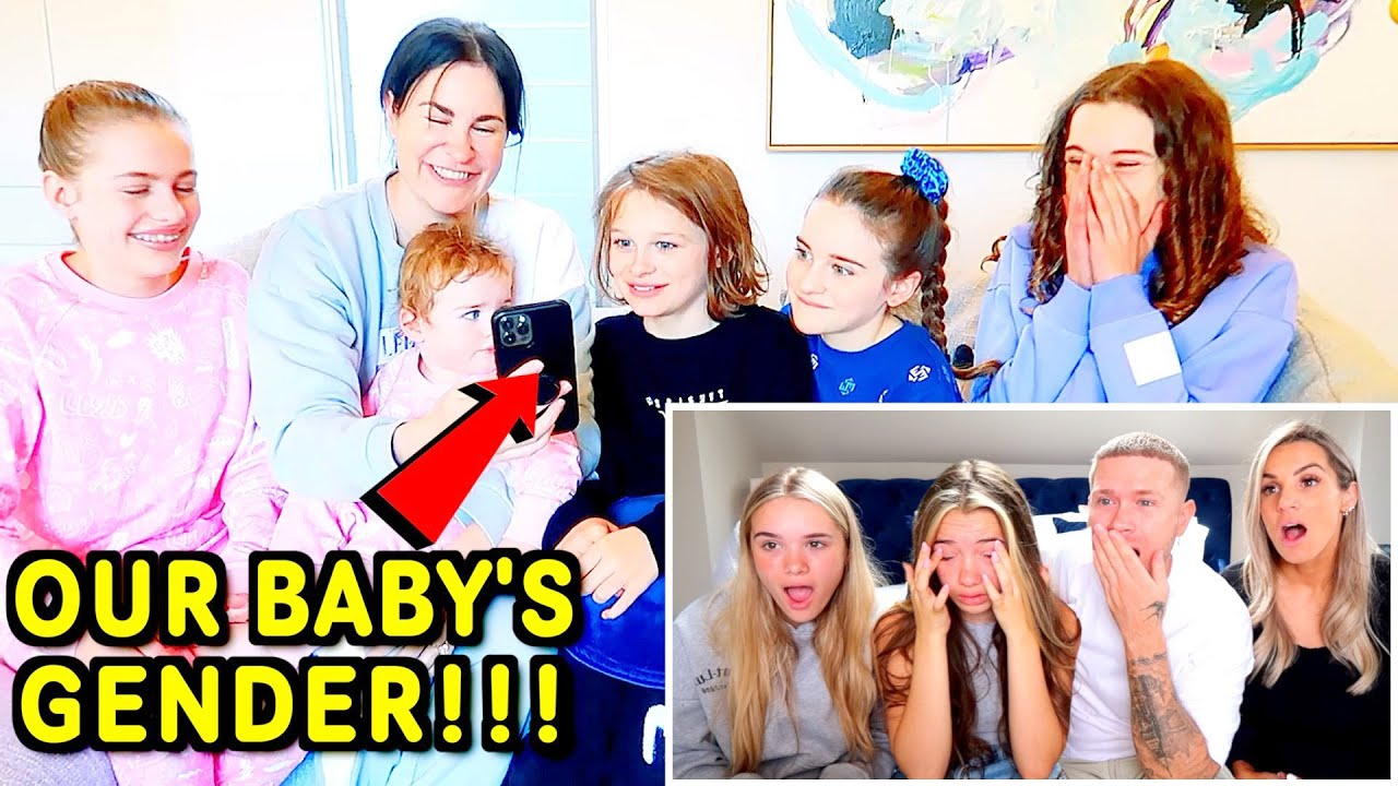 YOUTUBERS React to our BABY'S GENDER... But we still Don't know 😱