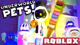 GOING TO THE UNDERWORLD! | Roblox Ice Cream Simulator