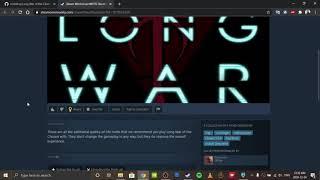How to install the long war of the chosen mod for XCOM 2