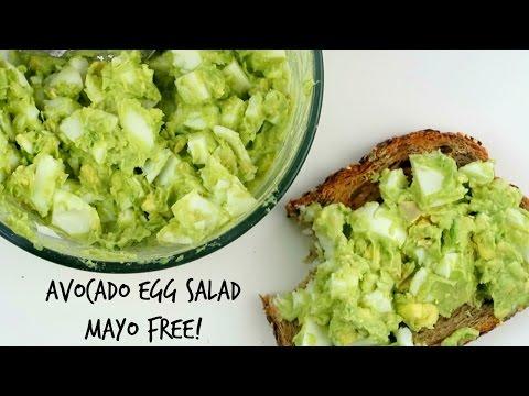 Mashed Avocado Egg Salad