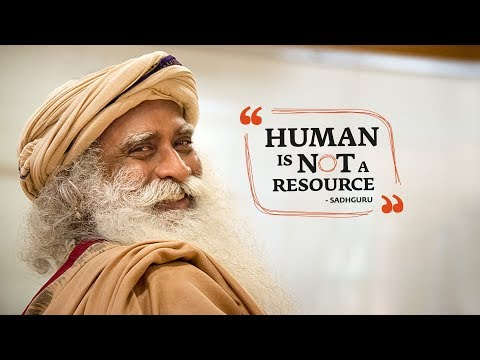 Human is Not a Resource - HR Conclave | Isha Leadership Academy