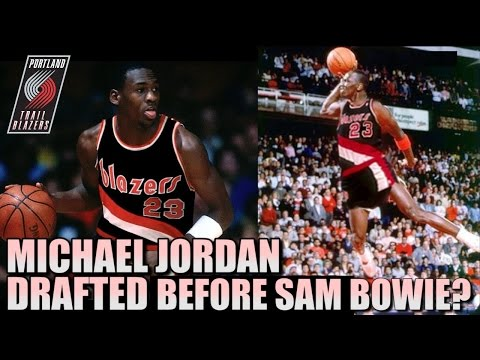 What If Michael Jordan was DRAFTED #2 Overall?