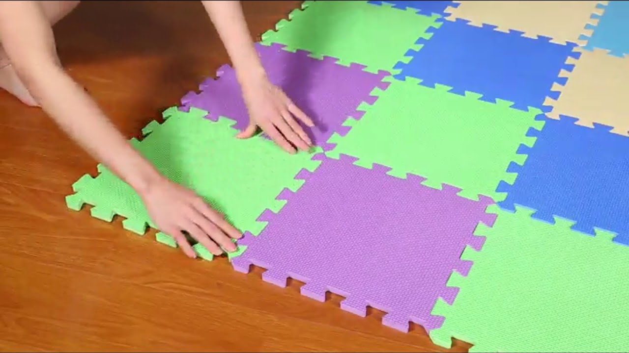 Puzzle Exercise Play Mat With Eva Foam