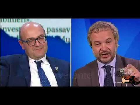 Claudio Borghi Aquilini -Piena Occupazione -Misiani le do una Info -Flat Tax  07/12/2017