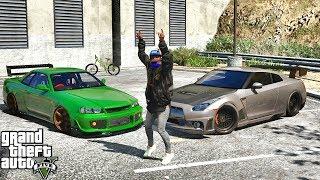 GTA 5 REAL LIFE MOD #573 - R34 VS EVERYTHING!!! (GTA 5 REAL LIFE MODS)
