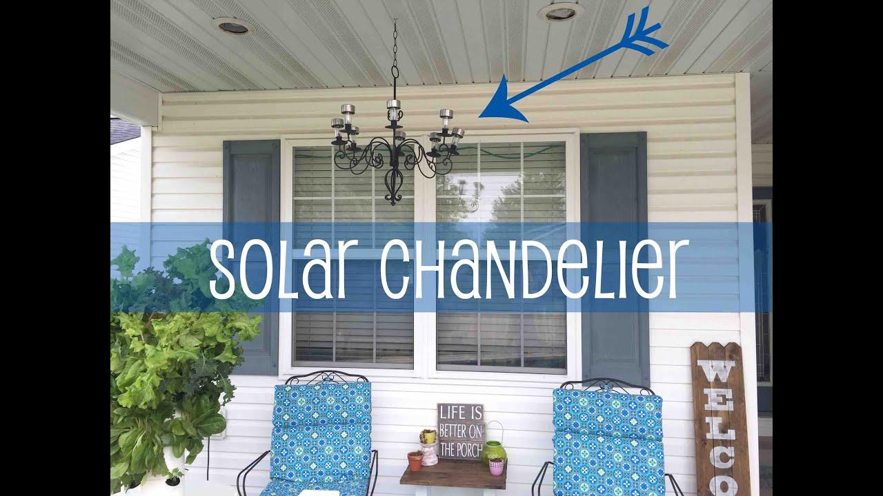 Outdoor Solar Chandelier 87