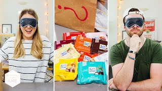 Ritter Sport Blindfold Challenge - In The Kitchen With Kate