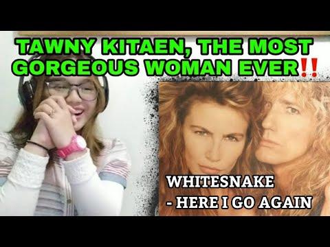 WHITESNAKE - 'HERE I GO AGAIN' '87 (OFFICIAL MV) || TAWNY KITAEN TRIBUTE REACTION