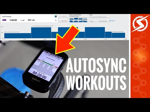 Repeat HOW TO AUTO SYNC DAILY TRAININGPEAKS WORKOUTS TO