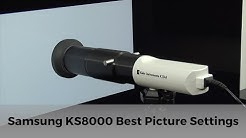 Samsung UE55KS8000 Best Calibrated Picture Settings