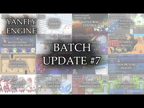 Yanfly Engine Plugins - Batch Update #7 - RPG Maker MV ...