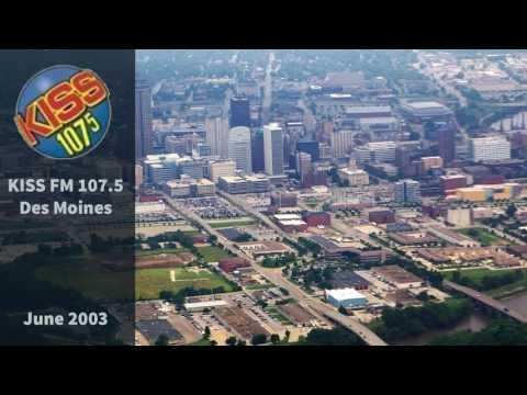 107.5 KISS FM Des Moines Aircheck (2006)