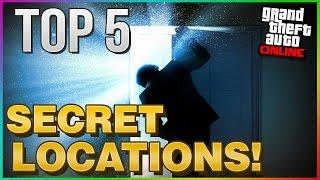 GTA 5 Online Top 5 SECRET Locations! (GTA 5 Online Secrets)