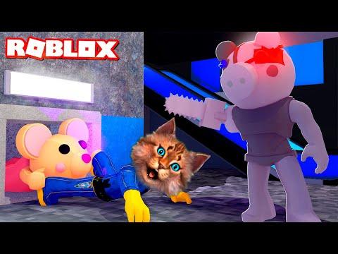 СЕКРЕТ ПИГГИ 12 ГЛАВА (Roblox Piggy Chapter 12) Весёлый Кот