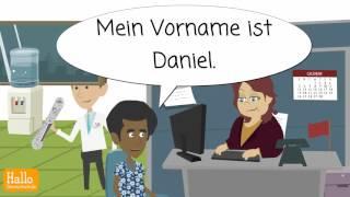 Deutsch lernen A1.1 / Lektion 2 / Personalien angeben