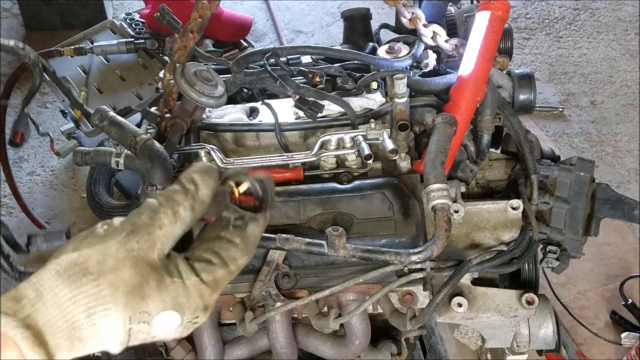97 mustang engine swap episode 14 the wire harness swap part 3 [ 1280 x 720 Pixel ]