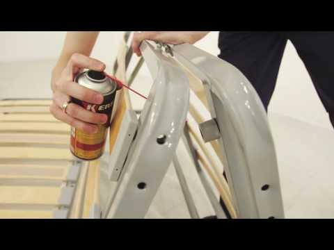 Устранение скрипа механизма MultiComfort (аккордеон)