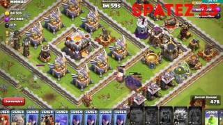 COC HACKED VERSION PEKKA KING,GIANT KING,DRAGON KING AND MORE ATTACKS BEST HACK EVER