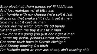 Chief Keef - Choppas On You (Official Screen Lyrics)