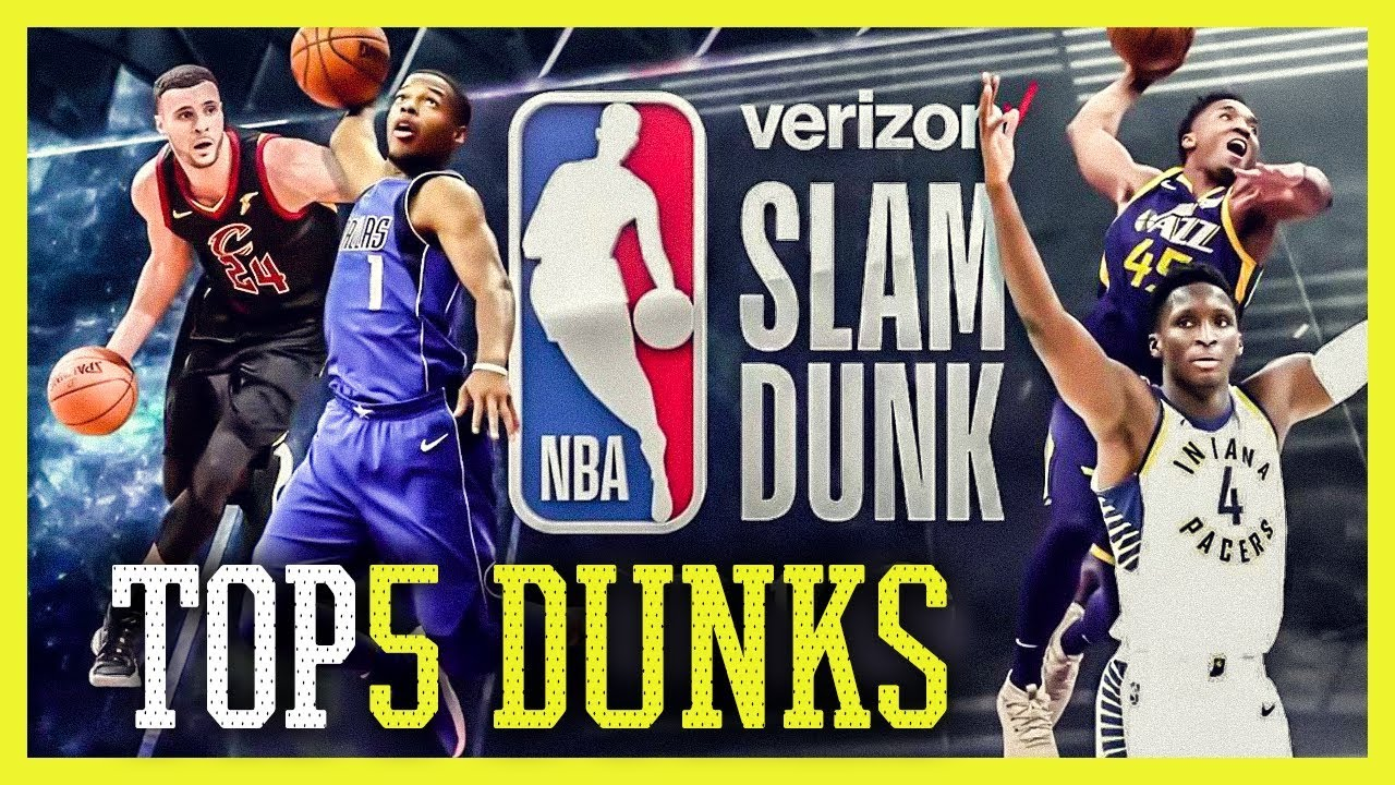 NBA SLAM DUNK CONTEST 2018 - Top 5 Dunks  7f62a1163