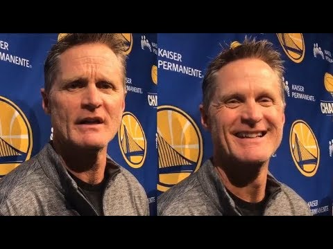"Steve Kerr speaks on Bill Walton:""Hes a little nuts"""
