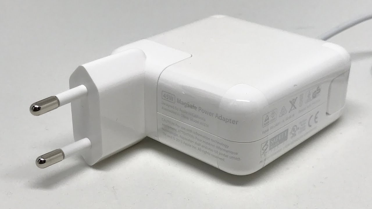 apple 45w magsafe power adapter for macbook air. apple 45w magsafe power adapter in 4k 45w magsafe for macbook air