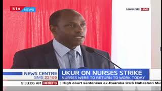 Labor CS is this morning holding a briefing on the nurses strike