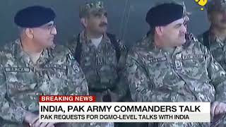 Breaking News: India, Pakistan Army Commanders talk