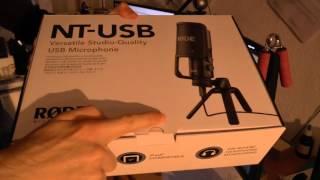 Rode NT-USB Mikrofon (РОЗПАКУВАННЯ)