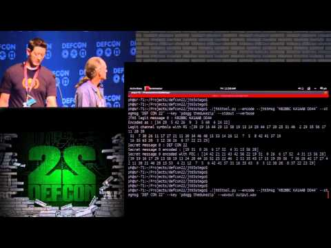DEF CON 22 - Paul Drapeau and Brent Dukes - Steganography in Commonly Used HF Radio Protocols