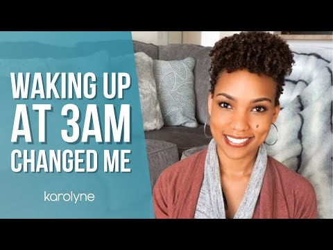 How Waking up at 3AM Drew Me Closer to God