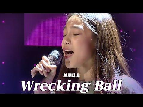 《HOT》KPOP STAR 5 K팝스타5|브로디.B, 안정감 되찾은 환상적 가창력 'Wrecking Ball' EP04 20151213