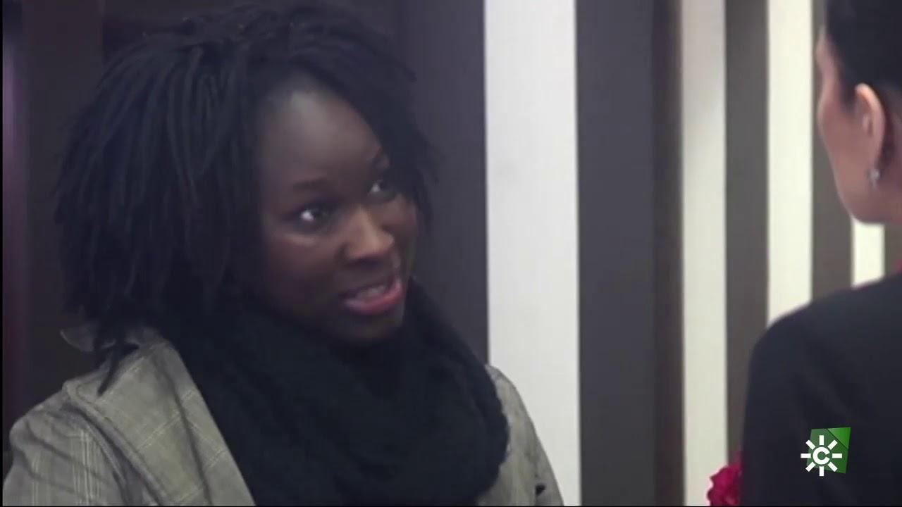 Gente Maravillosa |  La 'maravillosa' reacción de Amina en una tienda de ropa
