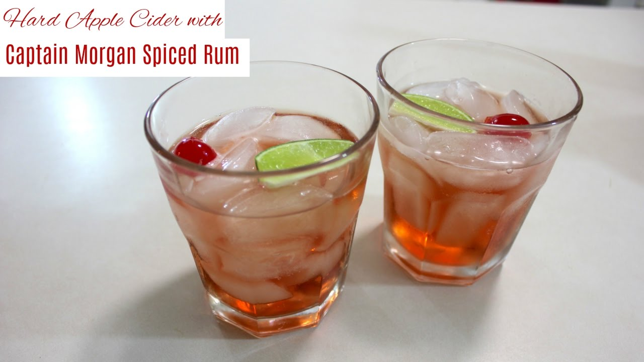 Hard Apple Cider With Captain Morgan Spiced Rum: Easy ...