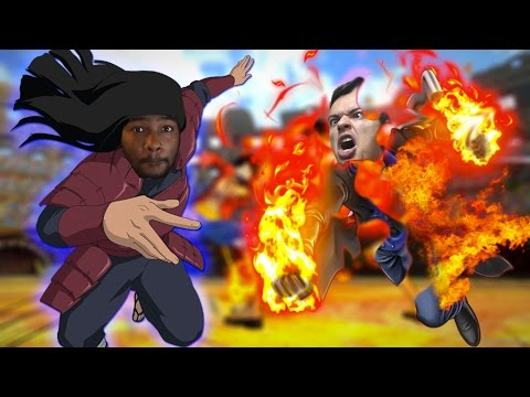 Logia vs Haki Teams!! MOST HYPE FIGHT EVER | One Piece Burning Blood Rhymestyle vs AfroSenju
