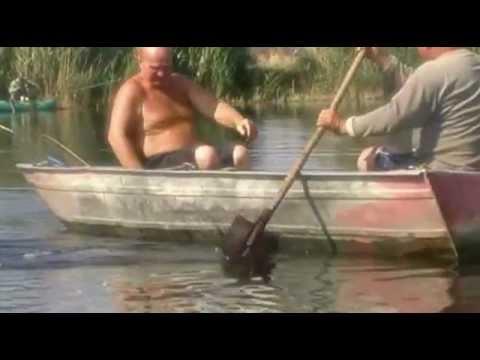 ролик суровые рыбаки
