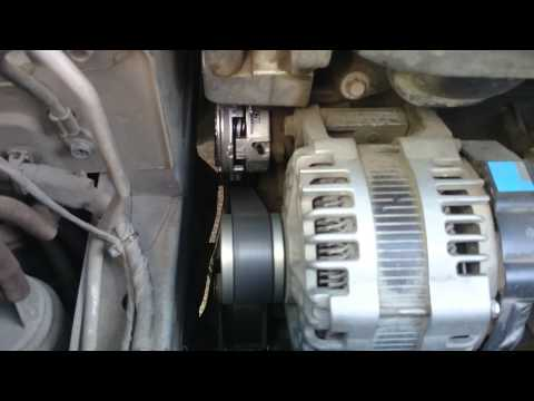 Nissan X trail T31 MR20DE гул шум вой на горячую