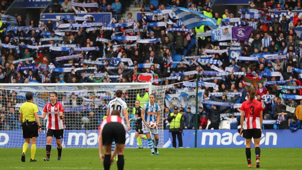 Futbol Femenino Inside Y Aficion Real Sociedad 2 2 Athletic 10