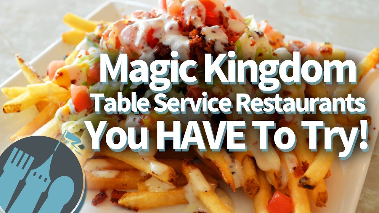Magic Kingdoms Best Table Service Restaurants YouTube - Magic kingdom table service restaurants